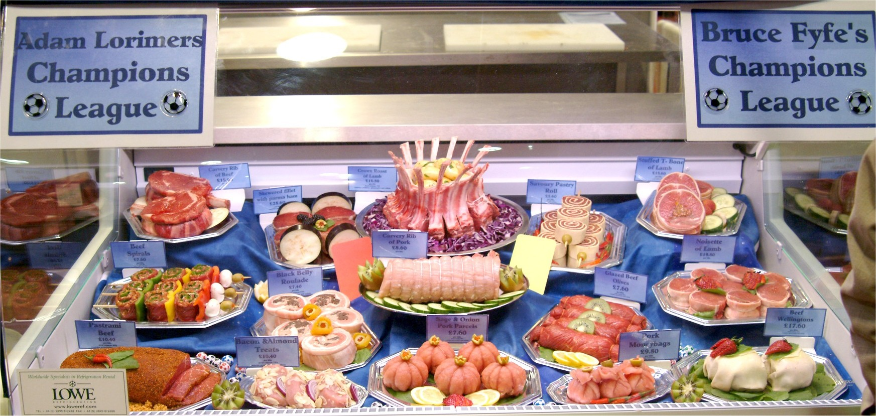Scottish Craft Butchers Qms Meat Display Competition